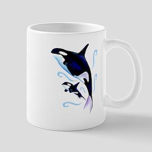 Orca Mom and Baby Mug