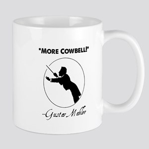 """Mahler """"More Cowbell!"""" Redux Mug"""