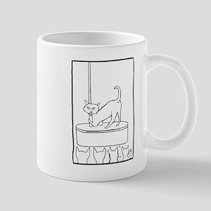 Cat Stripper Fun Mug