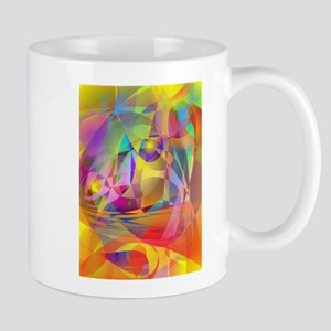Abstract Banana Mugs