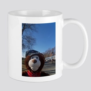 Lionel Bear At Whippany RW Museum. Mugs