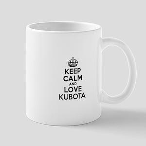 Keep Calm and Love KUBOTA Mugs