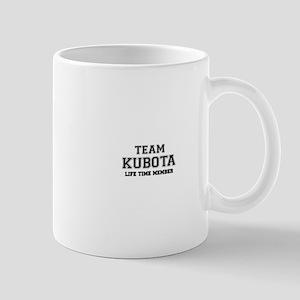Team KUBOTA, life time member Mugs