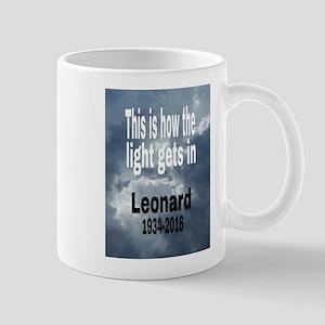Leonard 1934-2016 Mugs
