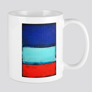 ROTHKO RED_BLUE Mugs