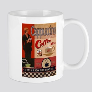 Vintage poster - Cappuccino Mugs