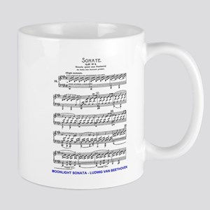 Moonlight-Sonata-Ludwig-Beethoven Mugs