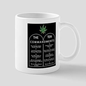 The Ten Commandments of Pot Mugs