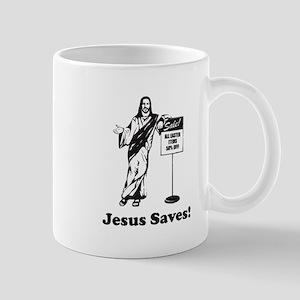 Jesus Saves! Mugs