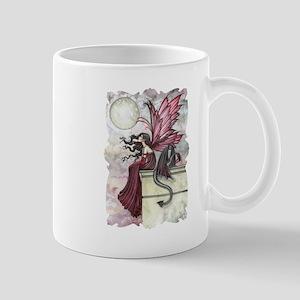 Fairy and Dragon Fantasy Art by Molly Harrison Mug