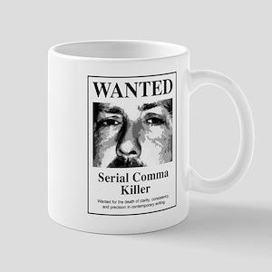 Serial Comma Commandos Mug