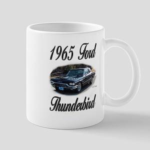 1965 Black Ford Thunderbird Mug