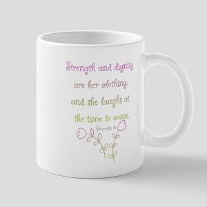 Proverbs 31 woman Mugs
