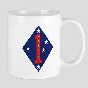 "1st Marine Division ""The Old Breed"" Mug"