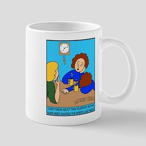 Looney Twins Sharing Spirits Mug