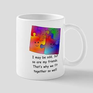 Friend Puzzle Mugs
