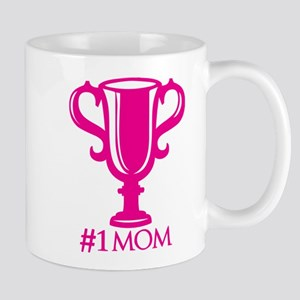 #1Mom Throphy Mug