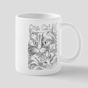 One cat- Hemingway Mugs