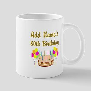 HAPPY 80TH BIRTHDAY Mug