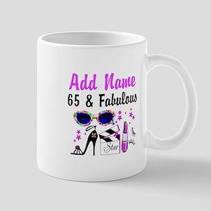 HAPPY 65TH BIRTHDAY Mug