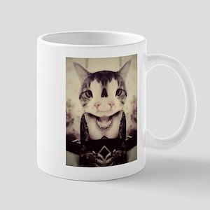Two Headed Cat Mug Mugs