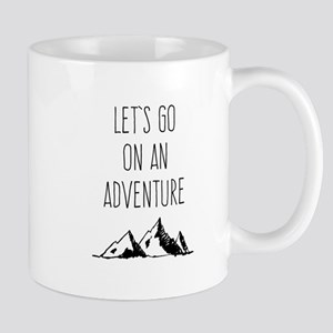 Let's Go On An Adventure Travel Mugs