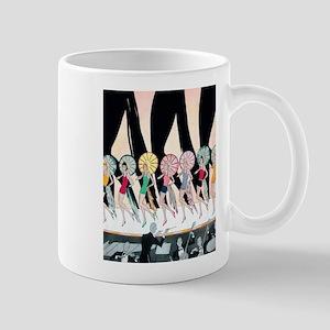 Vintage Dancing Troupe Mug