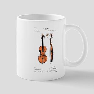 Fiddle (Full) Patent Mug
