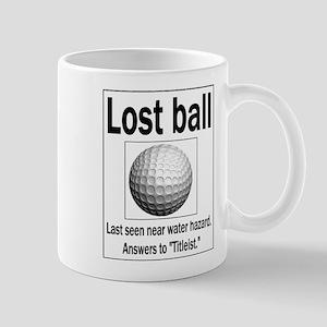 Lost ball Mug