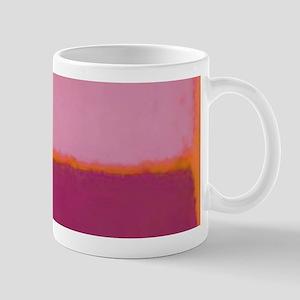 ROTHKO PINK RASBERRY AND ORANGE Mugs