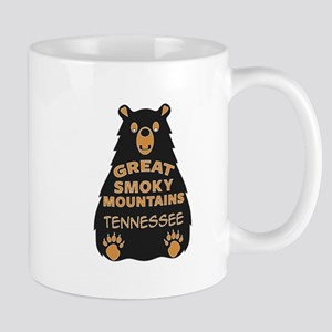 Great Smoky Mountains Bear National Park Tenn Mugs