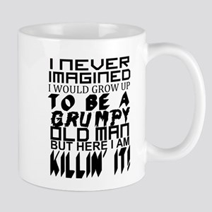 Grumpy Old Man Humor Mugs
