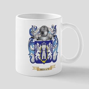 Kelly-(England) Coat of Arms (Family Crest) Mug