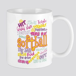 Softball Mugs