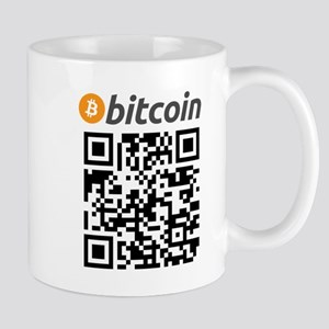 Bitcoin QR Code Mugs