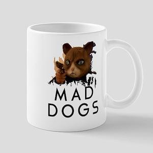 Mad Dogs Cat Shirt Mugs
