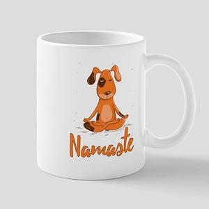 Namaste Yoga Dog Mugs