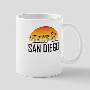 San Diego Sunset Mugs
