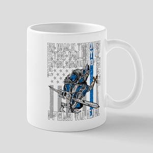 I Fear No Evil Police Crusader Mug