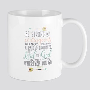 Joshua 1:9 Bible Verse Mugs