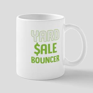Funny Yard Sale Bouncer Gift Mugs