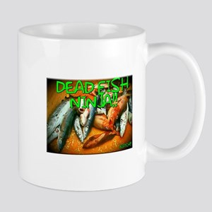 DEAD FISH NINJA!! Mugs