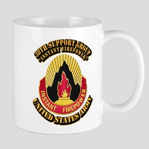 38th Support Group with Text Mug