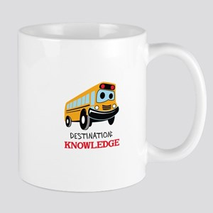 DESTINATION KNOWLEDGE Mugs