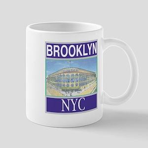 Brooklyn Train Token Large Mugs