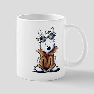 Steampunk Westie Mug