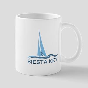 Siesta Key - Sailboat Design. Mug