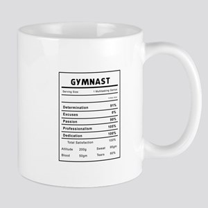 Gymnast Nutrition Information Mugs