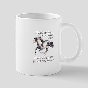 ON THE SIXTH DAY Mugs