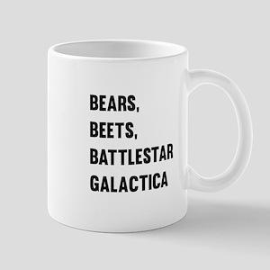 Bears Beets Battlestar Galactica 11 oz Ceramic Mug
